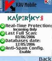 Kaspersky® Anti-Virus Mobile 2.0.55