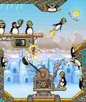 Crazy Penguin Catapult [Java] - Symbian OS 6/7/8