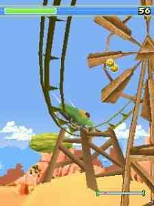 3D Rollercoaster Rush [Java] - Symbian OS 9.1